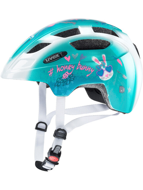 UVEX Finale Junior Helmet LED honey bunny
